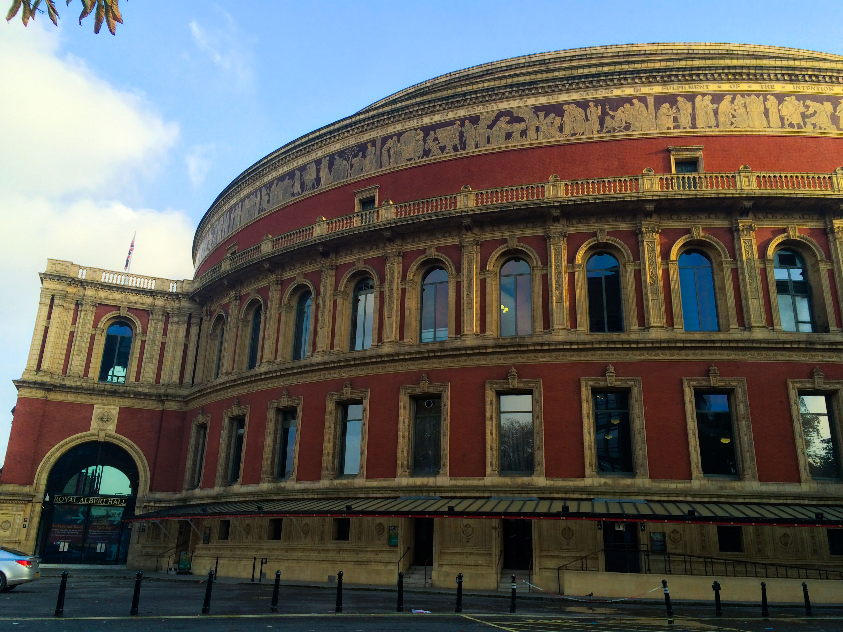Saying goodbye simply wanderlust for Door 12 royal albert hall
