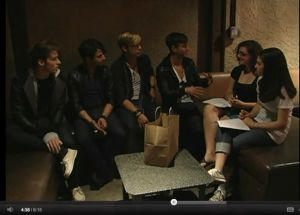 Very First 'Live' Interview with Honor Society