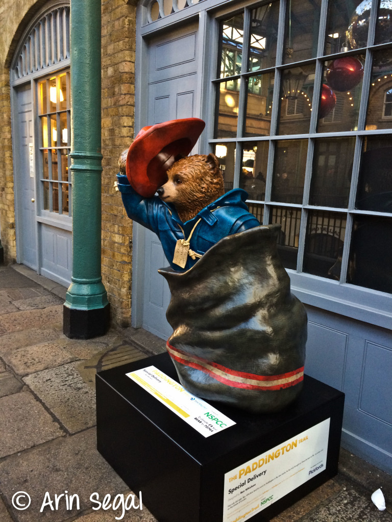 Paddington Bears are scattered around London just like the Busses..